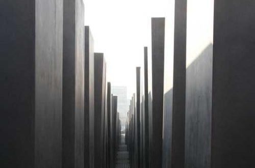 Article : Méandres de moi (le mémorial de la Shoah)