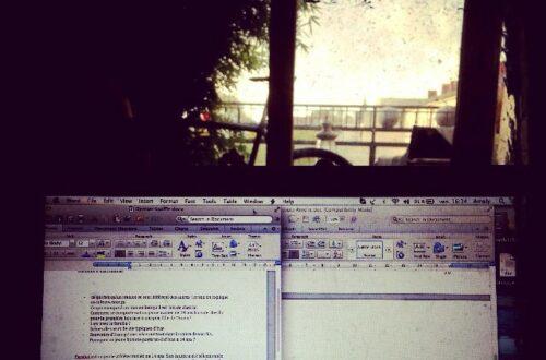 Article : Travaille, ô, ma douleur