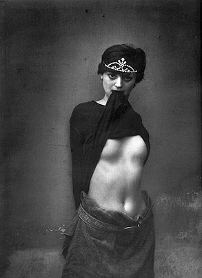 """So Many Women, So Little Time""- copyright: Jan Saudek"