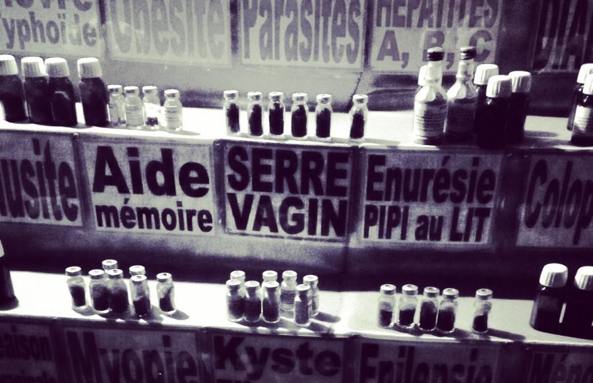 Elixir contre la terreur - marché Dakar