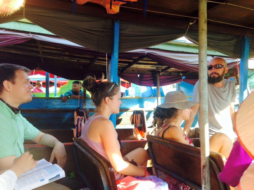 Bateau Siem Reap - Battambang